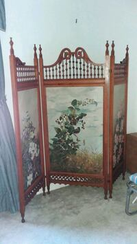 Victorian screen with 3 painted panels Cliffside Park, 07010