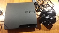 SONY Playstation3 console + 2 remotes + Charger + 12 games null
