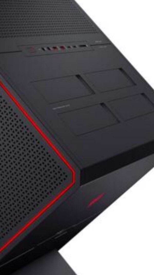 HP Omen X metal gaming tower case only  This is just the case for building  your own system there are no internal components