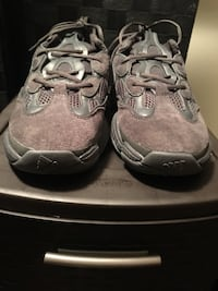 pair of gray-and-black Nike shoes Troy, 12180