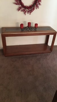 rectangular brown wooden coffee table Severn, 21144