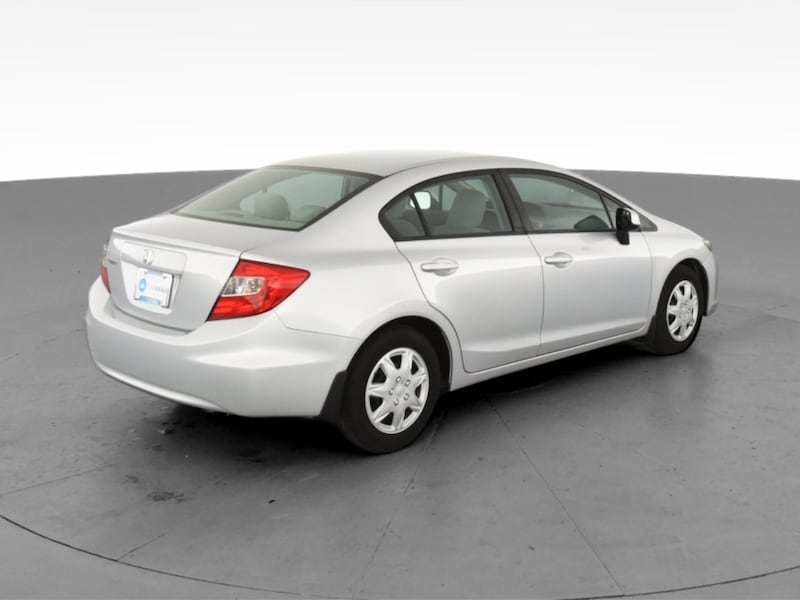2012 Honda Civic sedan LX Sedan 4D Burgundy  10