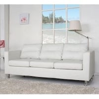 White All Modern Sofa  Silver Spring, 20910