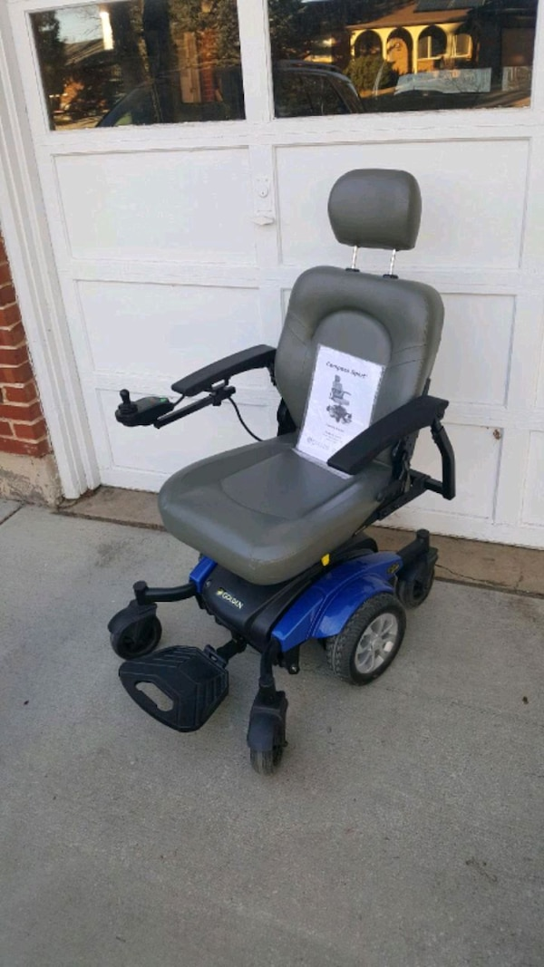 Compass sport electric wheelchair