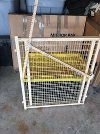 White and brown safety gate Lawton, 73505