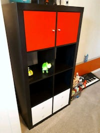 IKEA KALLAX Cube Storage  Red Deer, T4R