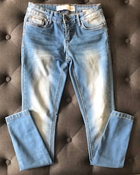 Size Small / GIRLS low rise jeans by RIO Mont-Royal, H3P