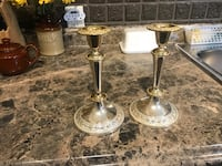 VINTAGE SILVER PLATED CANDLESTICK HOLDERS Oshawa, L1H 5A6