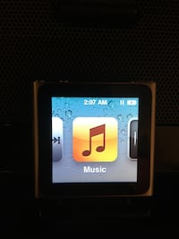 I pod (touch screen) nano with cord and car charger