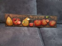 red and yellow fruits painting Kamloops, V2B 1V9