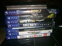 Ps4 games Bakersfield, 93308