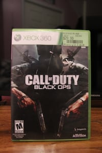 Selling Xbox 360 Call of Duty Black OPS  in Mint Condition.  Vaughan, L4L 2X7