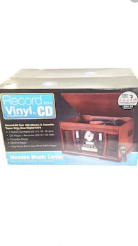 Innovative Technology Aviator Recordable CD 5 in 1 Wooden Music Center Brand New Manassas, 20112