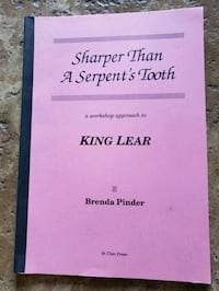 King lear teacher resource book Mississauga, L4W 2E5