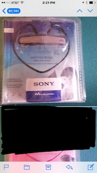 New Sony MP3 ear buds Houma, 70360