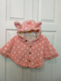 Baby girl cape jacket 6 months  3750 km