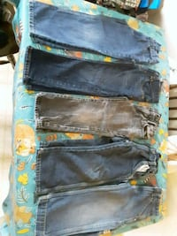 5 toddler jeans bundle