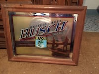 Used Busch Beer Mirror For Sale In Jacksonville Letgo