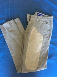 jeans denim marroni e grigi Lunghezza, 00132