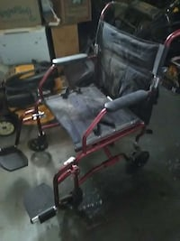 black and red wheelchair El Paso, 79925