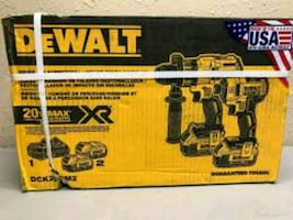 Brand new in box never opened Dewalt hammer drill and impact combo