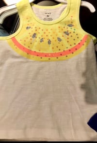 white and yellow tank top London, N6A 1J1