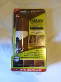 Gray away Vincent gray root touch up spray