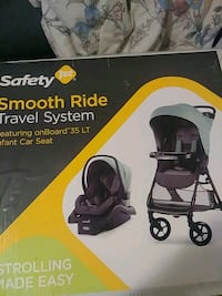 Brand new travel system from babies r us