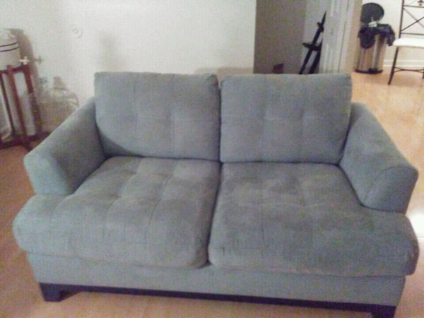 Firm plush Italian style couch