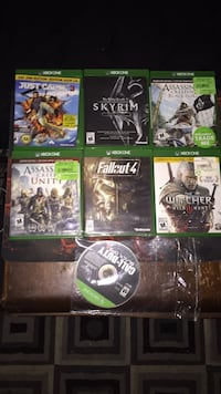 Assorted xbox one games Pickering, L1X 2M5