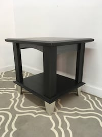 Black side table Abbotsford