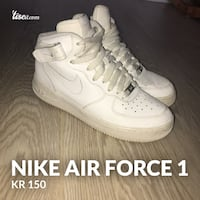 par hvite Nike Air Force 1 lav Fyllingsdalen, 5146