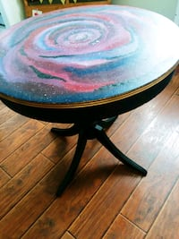 Pedestal Table Custom Painted Cleveland, 37312