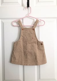 Zara baby girls corduroy dress size 9-12 months Mississauga, L5M 6C6