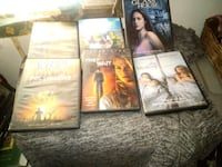 four assorted DVD movie cases Hanford, 93230