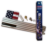American flag with stand new Kent, 98030