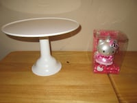 From $5 Cake Holder Stand, Hello Kitty ornament see details  PLANO