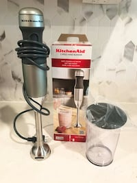 Kitchen aid 2 speed immersion hand held blender with 3 cup Ashburn, 20148
