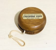 Vintage Hand Made Executive Wooden YO-YO Made of Genuine Teak Wood