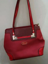red and brown leather tote bag Mumbai, 400095