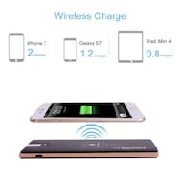 BRAND NEW SEAL IN BOX BEST QUALITY Dual Fast ChargingWireless 8000Mah Power Bank for Cell Phone Portable Battery Pack Charger Hayward