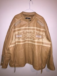 100% heavy Genuine leather jacket Great condition  Baltimore, 21218