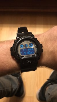 Round g-shock casio digital watch Blackstone, 01504