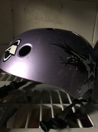 Purple bicycle helmet - child s. M Toronto, M2J 3W4