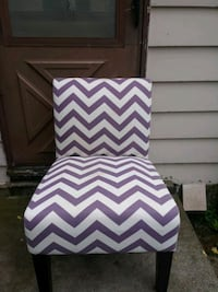 Purple and white chair WILL NOT DO TRADES.  Minneapolis, 55421