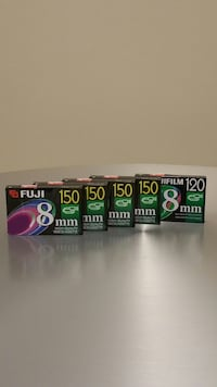 Video Camera Cassette Tapes - price is for ALLSIX (6) and is firm.