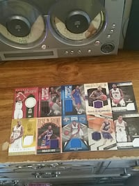 ten assorted NBA trading cards Charleston, 25313