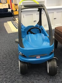 New  Little Tikes Blue Push Car W/Removable Floor Board Virginia Beach, 23462