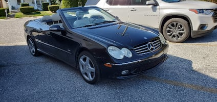 Mercedes CLK500 AMG Convertible Black/Black Top $8