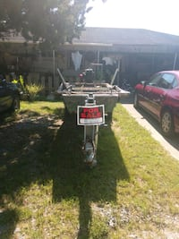 Boat, motor, and trailer  Bourg, 70343
